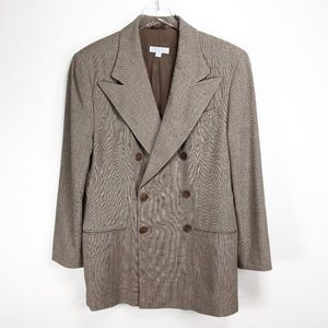 Vintage Barneys New York André Wool Italian Blazer